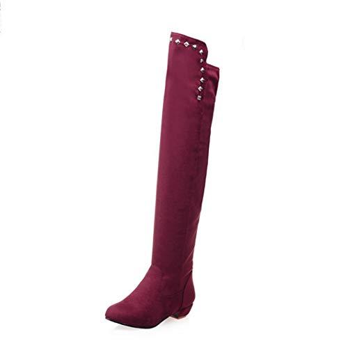(Winter Kniehohe Stiefel Mode Frauen Overknee Stiefel Herbst Schuhe Weibliche Oberschenkel Hohe Stiefel Schuhe)