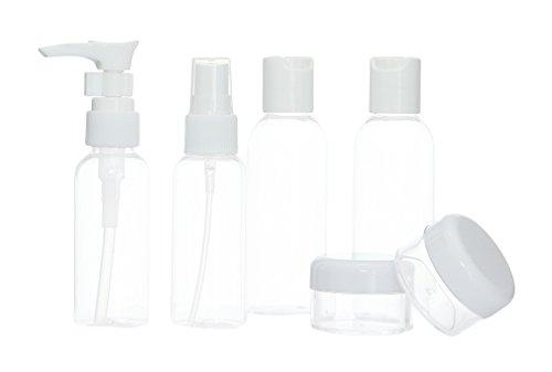 Kosmetik-Behälter für unterwegs (passend für das Handgepäck)