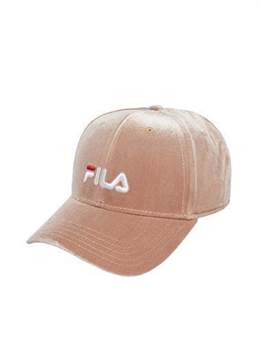 Fila Damen Snapback Caps Line Panel Velvet rosa Verstellbar