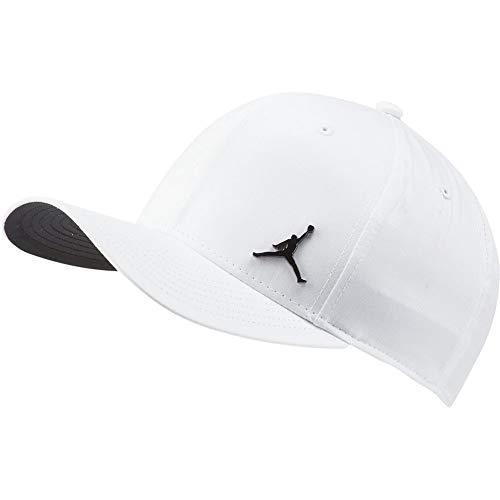 Nike Jordan CLC99 Metal Jumpman Chapeau Mixte Adulte, White/Black, FR Unique (Taille Fabricant : MISC)