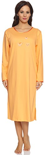 Merry Style Camicia da Notte da Donna 91LW1 Arancia
