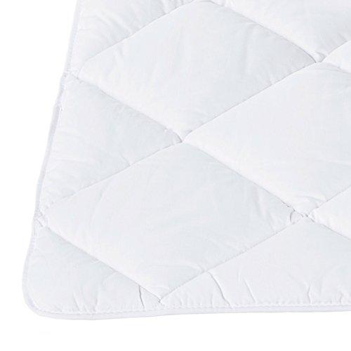ZOLLNER® allergikergeeignete Bettdecke Steppbettdecke – Serie Nova - 2