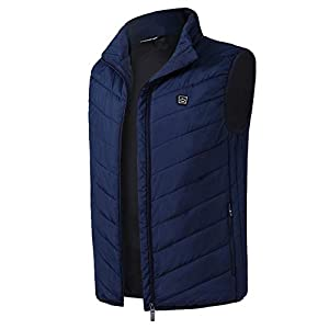 31V3QorkR9L. SS300  - USB Charging Graphene Electric Heated Vest Unisex Winter Security Intelligent Constant Temperature Heating Vest for Outdoor Riding Skiing Fishing Camping Hiking