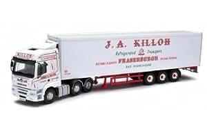 Corgi (Camions 1/50 Ème) - CCC13915 - Véhicule Miniature et Circuit - Foden Alpha Fridge Trailer - J A Killoh Transp