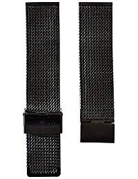 Montre  slow  - Affichage  bracelet Métal Noir et Cadran  slow band 22-32