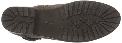 SemlerZara - Stivali classici imbottiti a gamba corta Donna Beige (Beige (037 taupe))