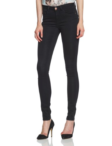 Only - Jeans slim fit, donna Nero (Schwarz (Black Denim)) S