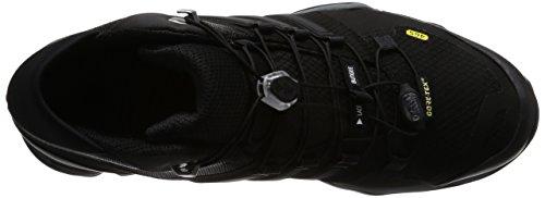 adidas Terrex Fast R Mid Gtx, Bottes de Randonnée Homme Noir (Negbas/negbas/ftwbla)