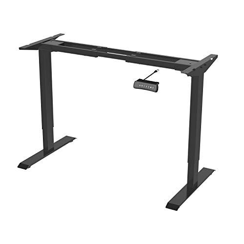 Flexispot ED2B Höhenverstellbarer Schreibtisch Elektrisch höhenverstellbares Tischgestell, passt für alle gängigen Tischplatten. Mit Memory-Steuerung und Softstart/-Stop
