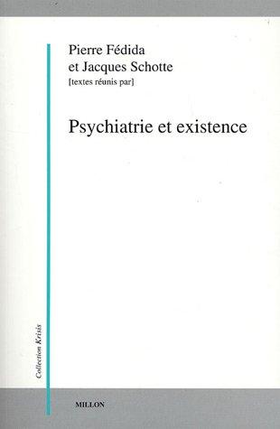 Psychiatrie et existence