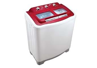 Godrej GWS7002PPC Semi-Automatic Top-loading Washing Machine (7 Kg, Red)