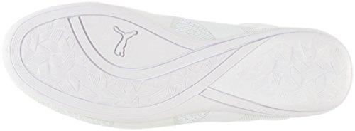 gold Evo Largura Meados Puma Eskiva De Malha White Sneakers EwAp7q8A