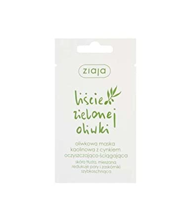 3 X Ziaja Face Mask - Cleansing - With Olive Leaf And Zinc - Oil And Mixed Skin by ZIAJA