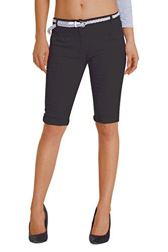 Damen Shorts, ( 454), Grösse:42 XL, Farbe:Schwarz