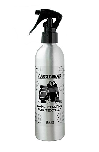 Price comparison product image Nanotec Nano Tec Fabric Coating for Textile - Protection for Shoes,  Sofa,  Car seats,  Curtains,  Rugs and personal items - Spray 250ml