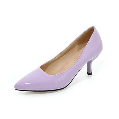 Talloni delle donne Primavera Estate Autunno Inverno Comfort similpelle Ufficio & Party Carriera & Evening Stiletto Heel Casual OthersBlack Blu Giallo Purple