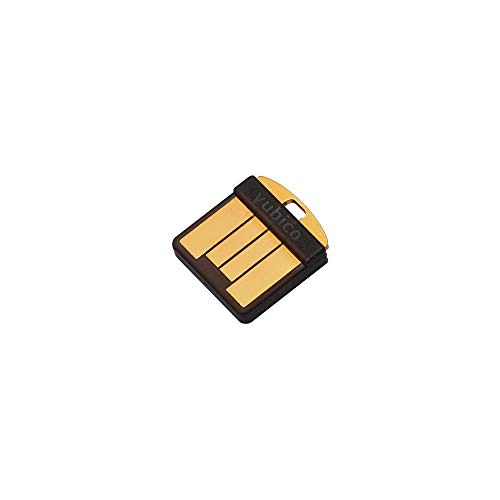 Yubico YubiKey 5 Nano - Two Factor Authentication Security Key - Black - USB-A