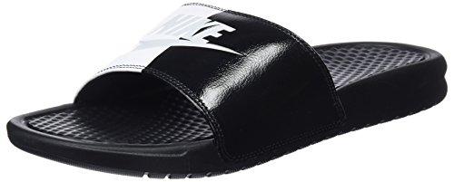 Nike benassi jdi, ciabatte uomo, nero pure platinum/black/white 015, 40 eu