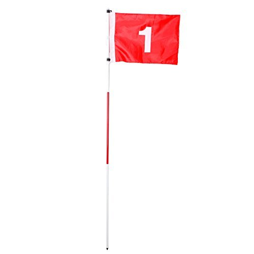 EverTrust(TM) UK Nylon Backyard Practice Golf taining Flagstick Hole Pole Flag Cup Stick Putting Green Chipping