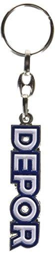 Real Club Deportivo de La Coru/ña Lladep Llavero Blanco//Azul Talla /Única