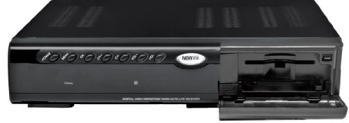 New Line HD49 Twin CI+ Full HD Satelliten-Receiver (Full HD, Twin Tuner, HDMI, CI+, USB) schwarz