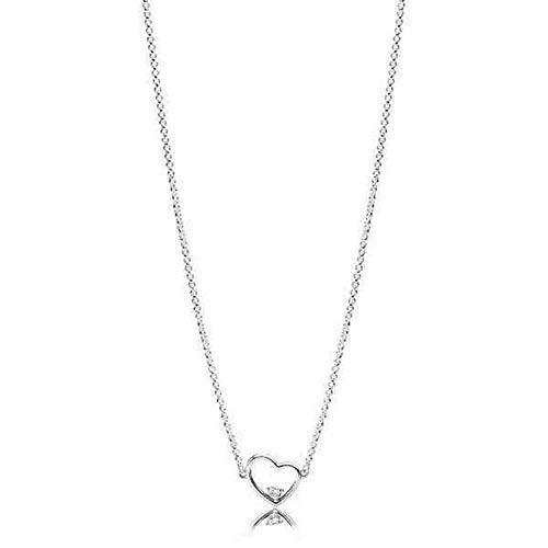 Pandora collana con ciondolo donna argento - 397797cz-45