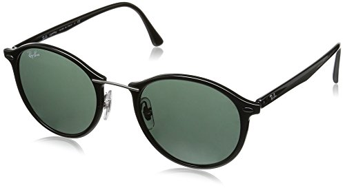 Ray-Ban Unisex Sonnenbrille Rb 4242 Light Ray Black/Greygreen, One size (49)
