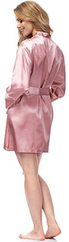 Merry Style Damen Morgenmantel MSFX797 Rose
