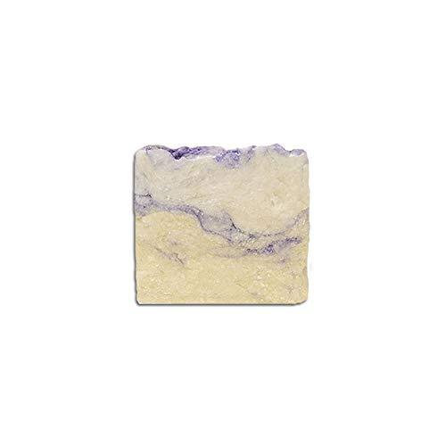 Mijo Lavendelseife SWIRL handgemachte rückfettende 100% Naturseife mit Bio Olivenöl, Sheabutter ohne Palmöl vegan N