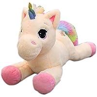 Georgie Porgy Niños Peluche Unicornio de Peluche Animal Mullido Almohada Almohada cojín Regalos para niña (