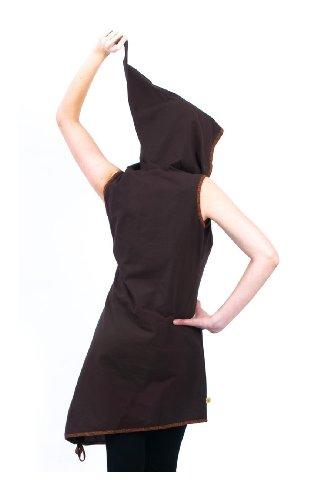 Robe capuche de lutin teuffer - Marron