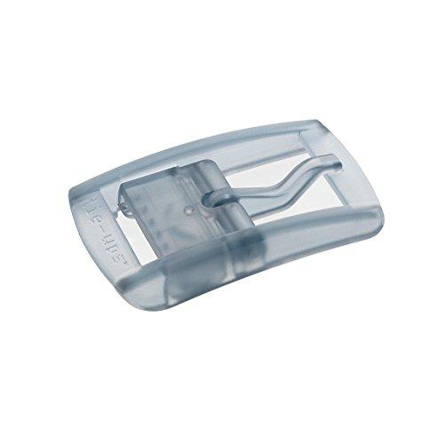Preisvergleich Produktbild tie-ups -buckle in durchsichtigen Kunststoff BASIC BAUHAUS LIGHTGREY