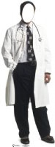 Pappaufsteller Doktor Couple 'Stand In' Standup Figur Kinoaufsteller Pappfigur Cardboard Lebensgroß Life-Size Standup