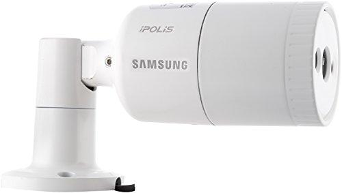 Samsung Sno-E6011Rp Ip Bullet Camera (White)