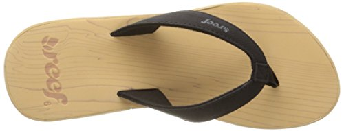 Reef Damen Reefwood Ii Sandalen, One Size Black (Black/Wood)