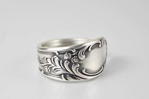 Rokoko Besteck Schmuck Ring, ca. 66 (21) Ring aus Besteck