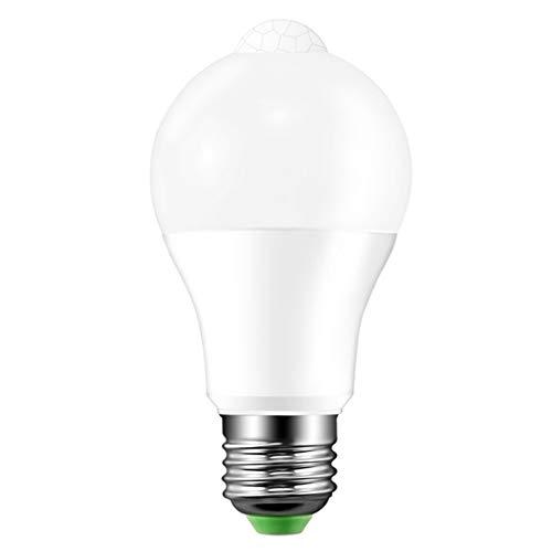 Hemore - Bombilla LED con Sensor de Movimiento (2700 K, infrarroja, para...