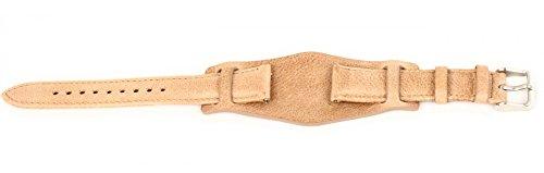 Fossil Original Lederband Ersatzband Armband CH2794 ohne Uhr m Federstegen 18mm
