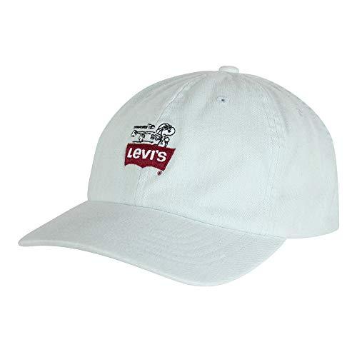 Imagen de levi's peanuts flexfit hat , azul light blue 13 , única talla del fabricante un para hombre