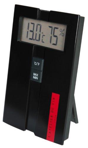 L'Atelier du Vin 095225-4 Digitales Hygro- / Thermometer