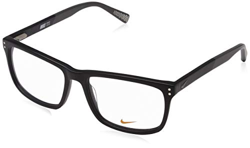Nike Herren 7238 010 54 Brillengestelle, Black-Dark Grey