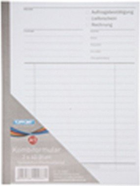 Multifunktions-formular (Lieferschein, Rechnung, Auftragsbestaetigung * Selbstdurchschreibend * A5)