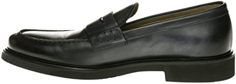 MOCASSINO UOMO - DOUCAL'S - PELLE BLU Size : 39