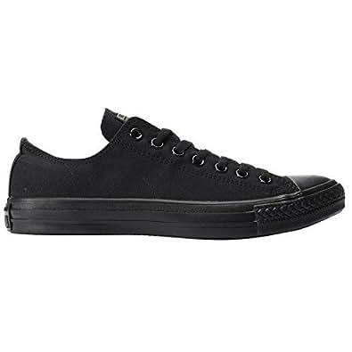 Converse Ctas, Unisex Adults  Low-Top Sneakers, Black (Black Mono), 6.5 UK (39.5 EU)