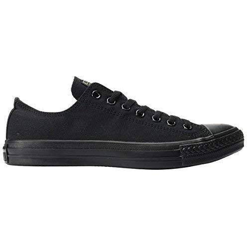 (Converse  All star ox,  Herren Casual Sneakers,Schwarz (Black Mono), 44.5 EU)