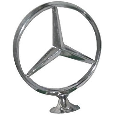 Enfield County de aleación, Mercedes Benz Bonnet diseño de emblema y cromo acabado Badge spares2u