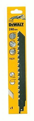 Preisvergleich Produktbild DeWalt DT2420 HM-Säbelsägeblatt 240 Stein (1 Stk.)