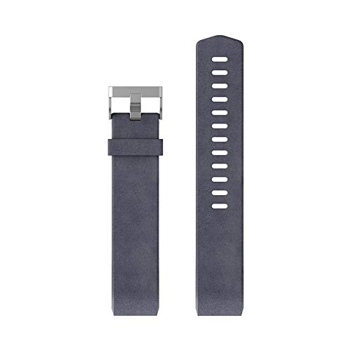 Fitbit Charge 2 Leather Accessory Band, Indigo, Large