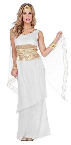 Karneval-Klamotten Römerin Faschingskostüm Römische Göttin Damen-Kostüm Größe 40 (Baby Kostüm Griechische Göttin)