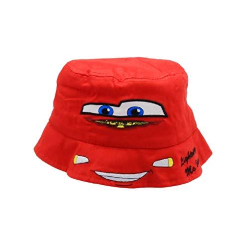 Cars Disney Lightning McQueen Kinder Sommer-Mütze Hut, Größe:EUR 50
